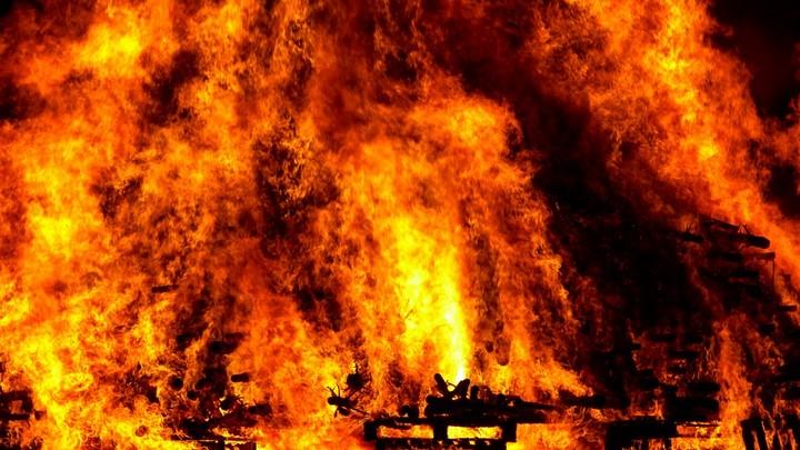 пожар в типографии