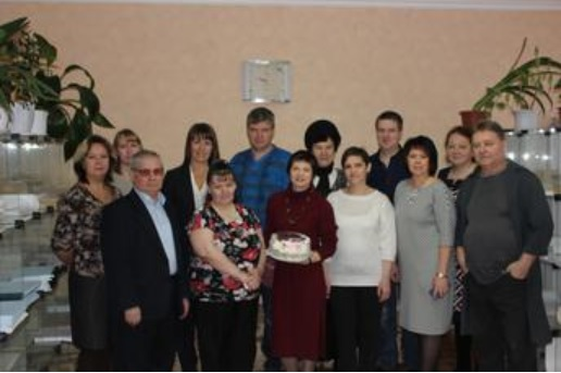 сотрудники Коркинской типографии
