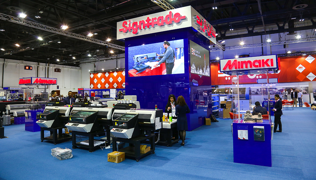 Sign and Graphic Imaging (SGI) 2018 show