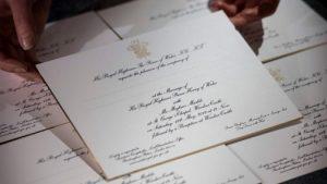 Приглашение на свадьбу принца Гарри