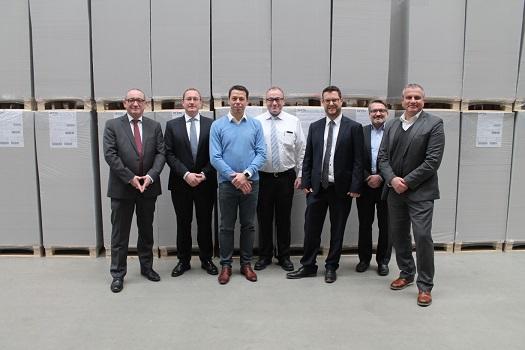 руководители WEIG и подразделений Heidelberg