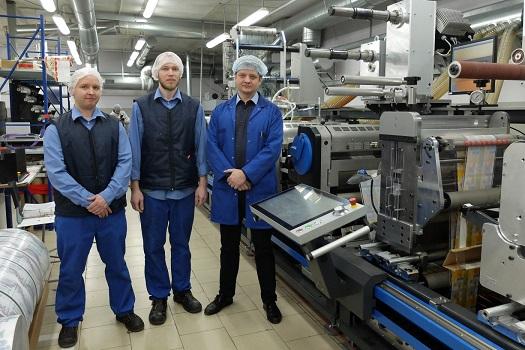 Специалисты печатного цеха «Санрайз» высоко оценивают производственные мощности Gallus Labelmaster