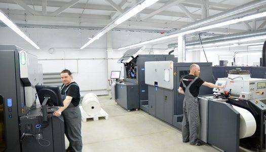 инсталляцию первой ЦПМ HP Indigo в azimutprint