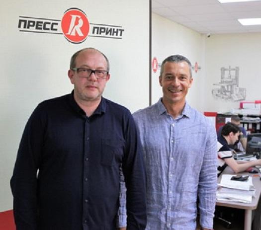 Леонид Черепанов и Анатолий Шорохов