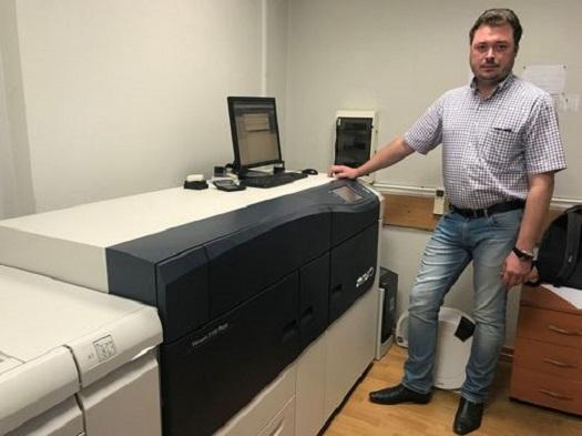 ЦПМ Xerox Versant 3100 Press в типографии «Интерюнити»