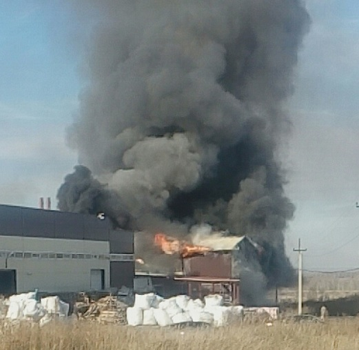 пожар в типографии в Алтайском крае