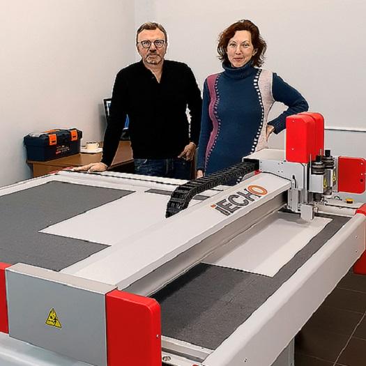 Новый плоттер IECHO в типографии «ЭтиКор»
