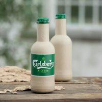 Компания Carlsberg представила первую в мире бумажную бутылку для пива