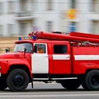 Пожар в здании Московской газетной типографии