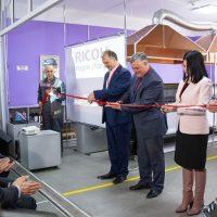 Первый в России УФ-принтер RICOH Pro установлен в типографии «ДАММИ»